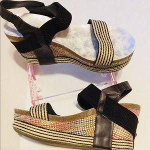 Boutique by Corkys Shoes - Boutique by Corkys Platform Wedge Sandals Size 9